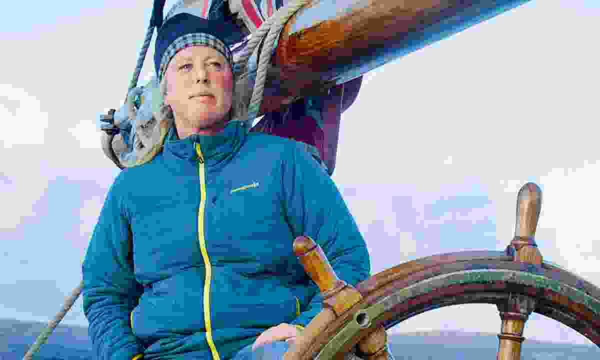 Bessie Ellen's restorer, owner and skipper, Nikki Alford (Phoebe Smith)