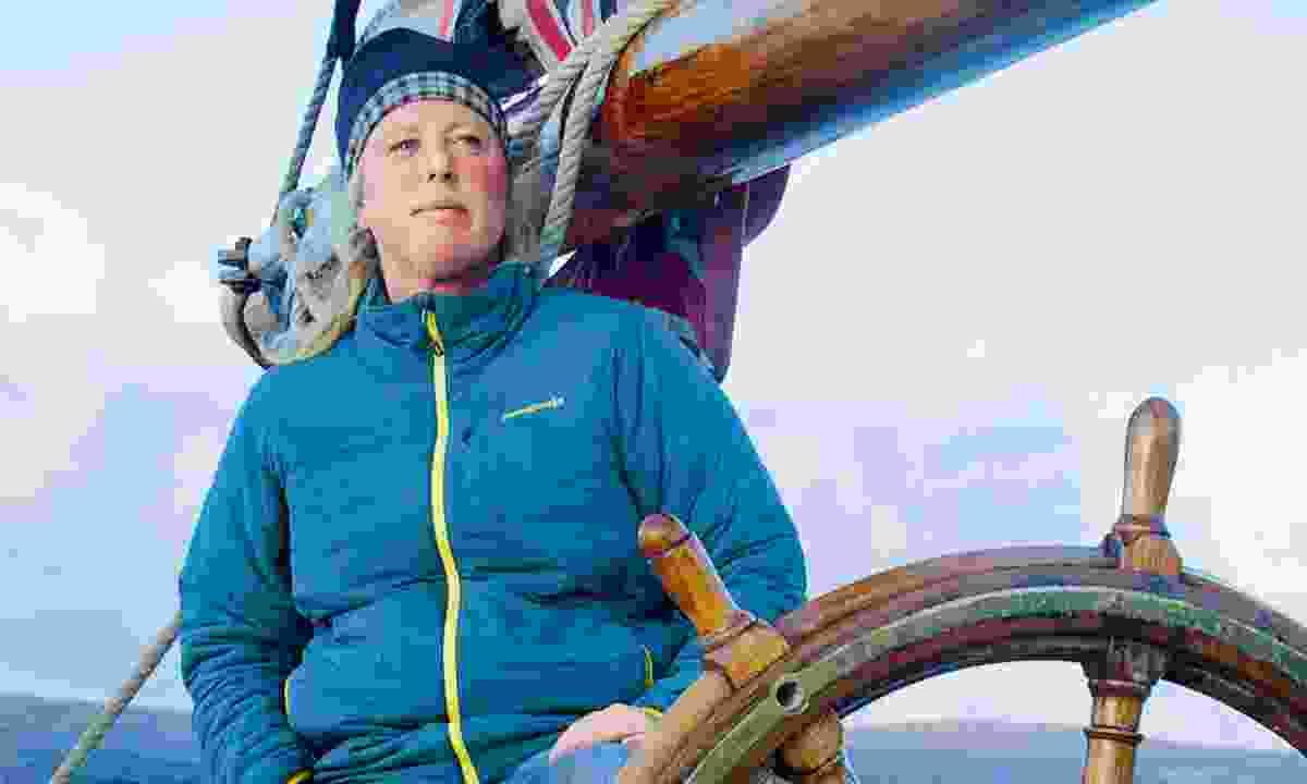 Bessie Ellen's restorer, owner and skipper, Nikki Alford (Phoebe Smith)
