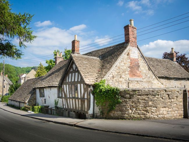 The Ancient Ram Inn in Gloucestershire (Shutterstock)