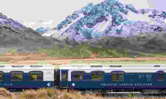 The Andean Explorer en route to Arequipa (Belmond)