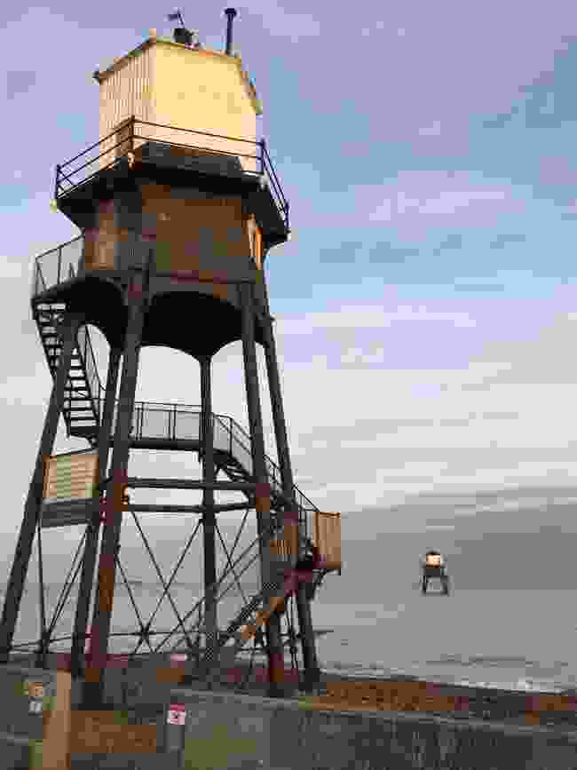 Victorian lighthouses at Dovercourt (Sarah Guy)