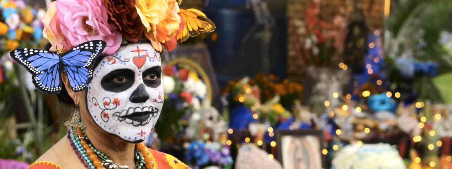 Celebrating the Day of the Dead (Dreamstime)