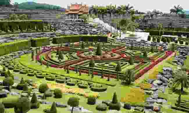 Nongnooch tropical garden in Pattaya (Dreamstime)