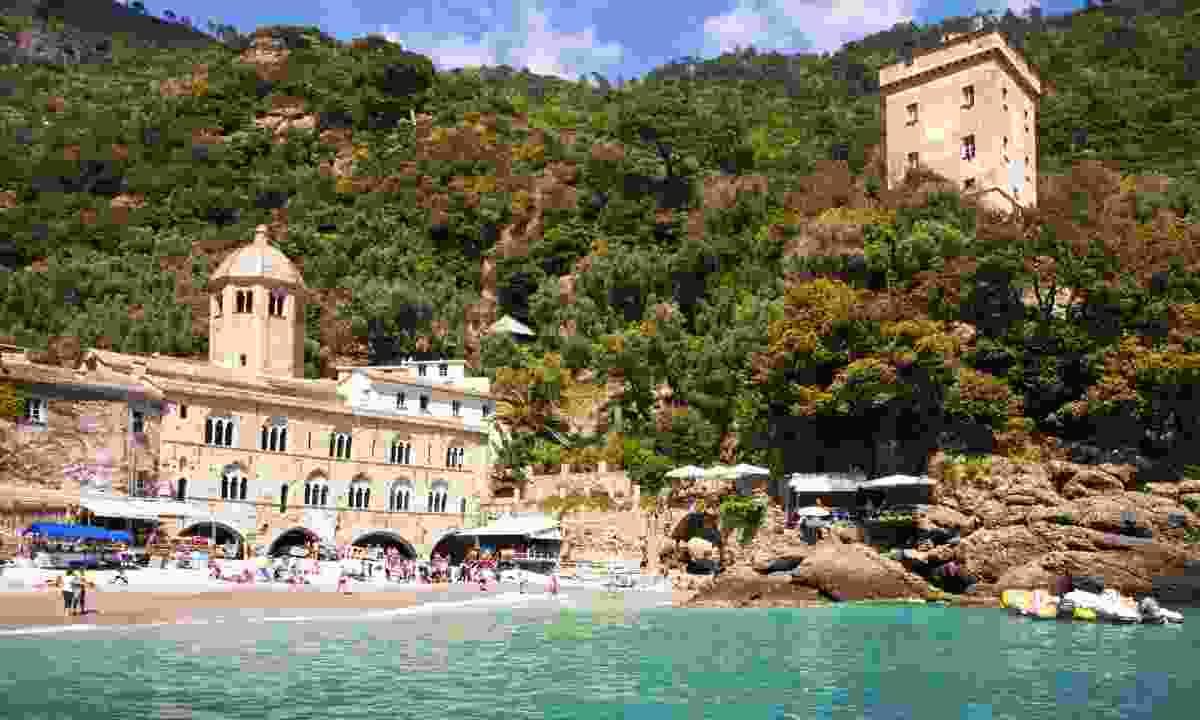 The breathtaking bay of San Fruttuoso near Genoa (Dreamstime)