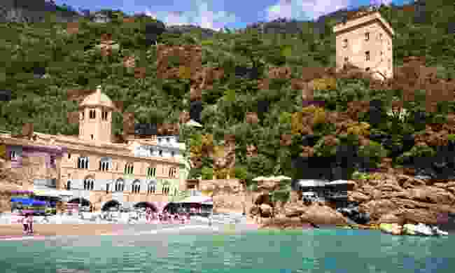 The breathtaking bay of San Fruttuoso near Genoa (Dreamstime)