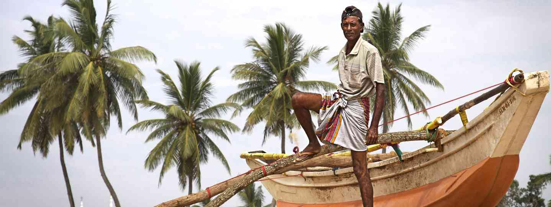 Sri Lankan fisherman (Dreamstime)