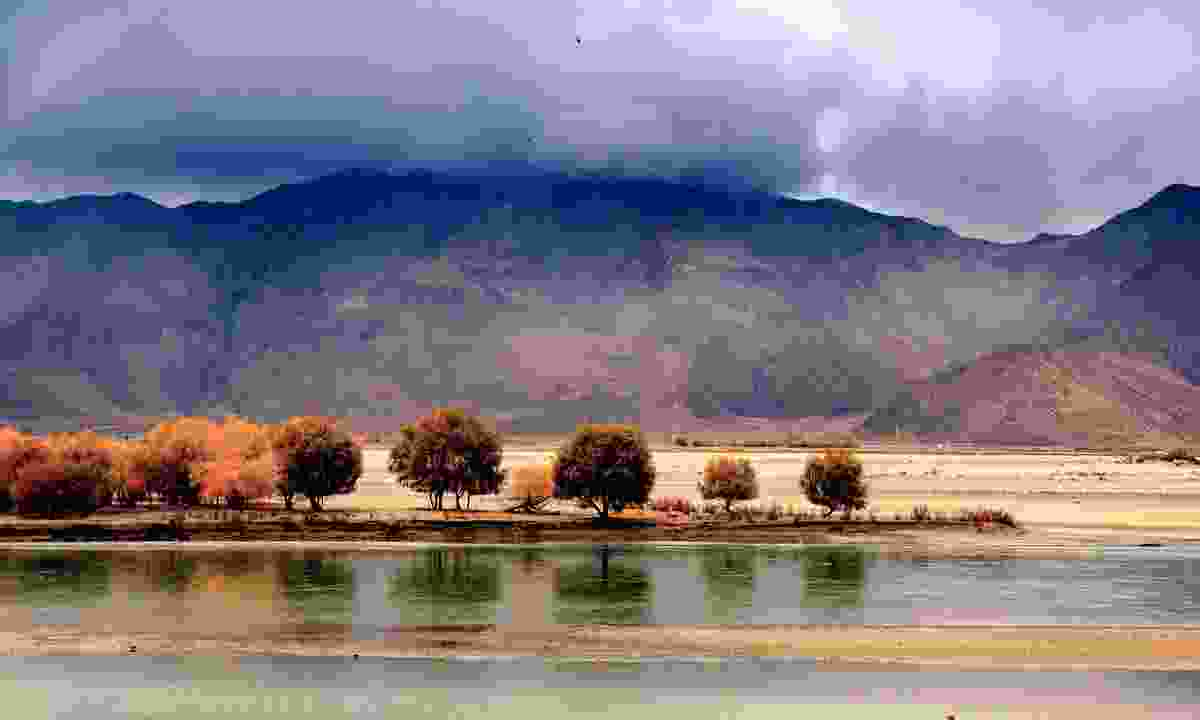 The beautiful Brahmaputra river (Dreamstime)