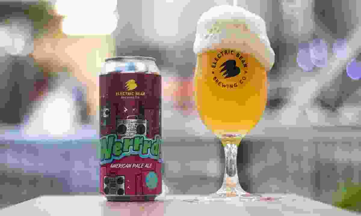 Werrrd American Pale Ale (Electric bear/Visit Bath)