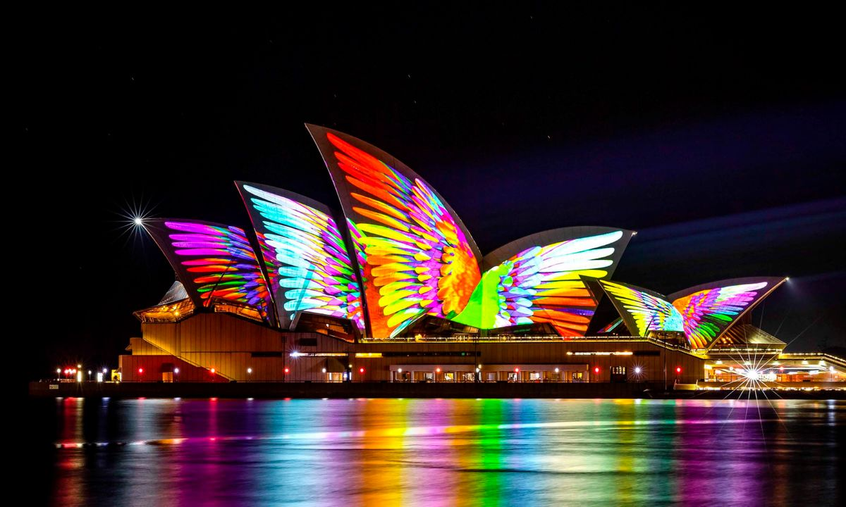 Totally lit: 15 breathtaking images from Sydney's stunning Vivid festival