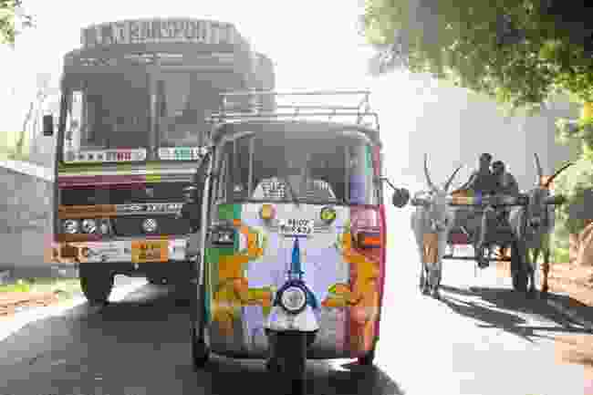 Competing in the Rickshaw Run in India (The Adventurists)