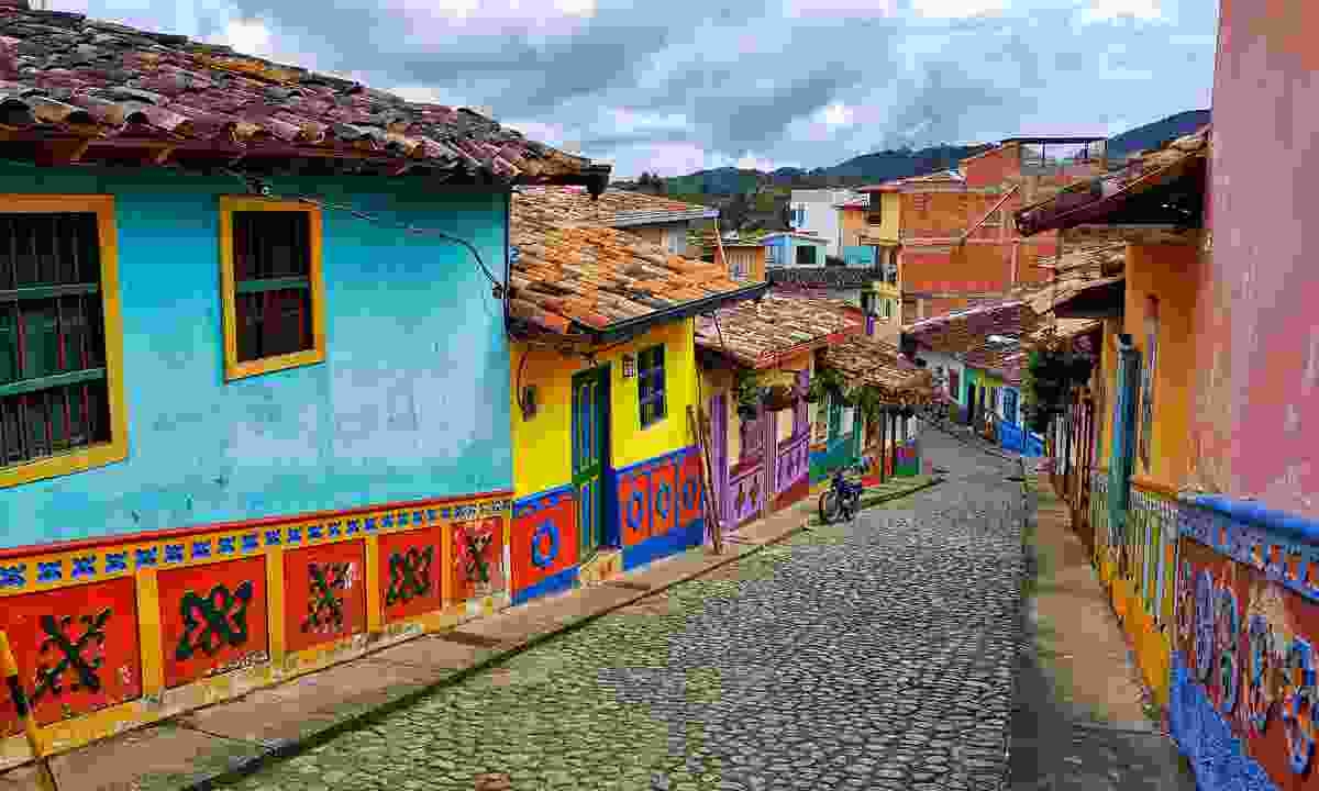 Colourful streets of Guatapé (Shutterstock)