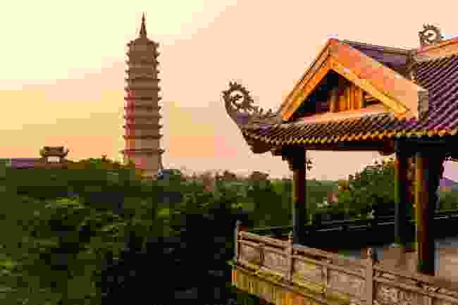 Bai Dinh Pagoda, the biggest temple complex in Vietnam  (Shutterstock)