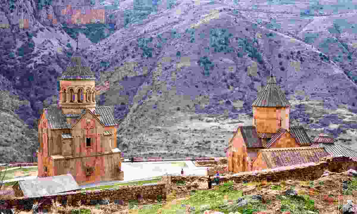 Novarank monastery in Yeghegnadzor (Shutterstock)