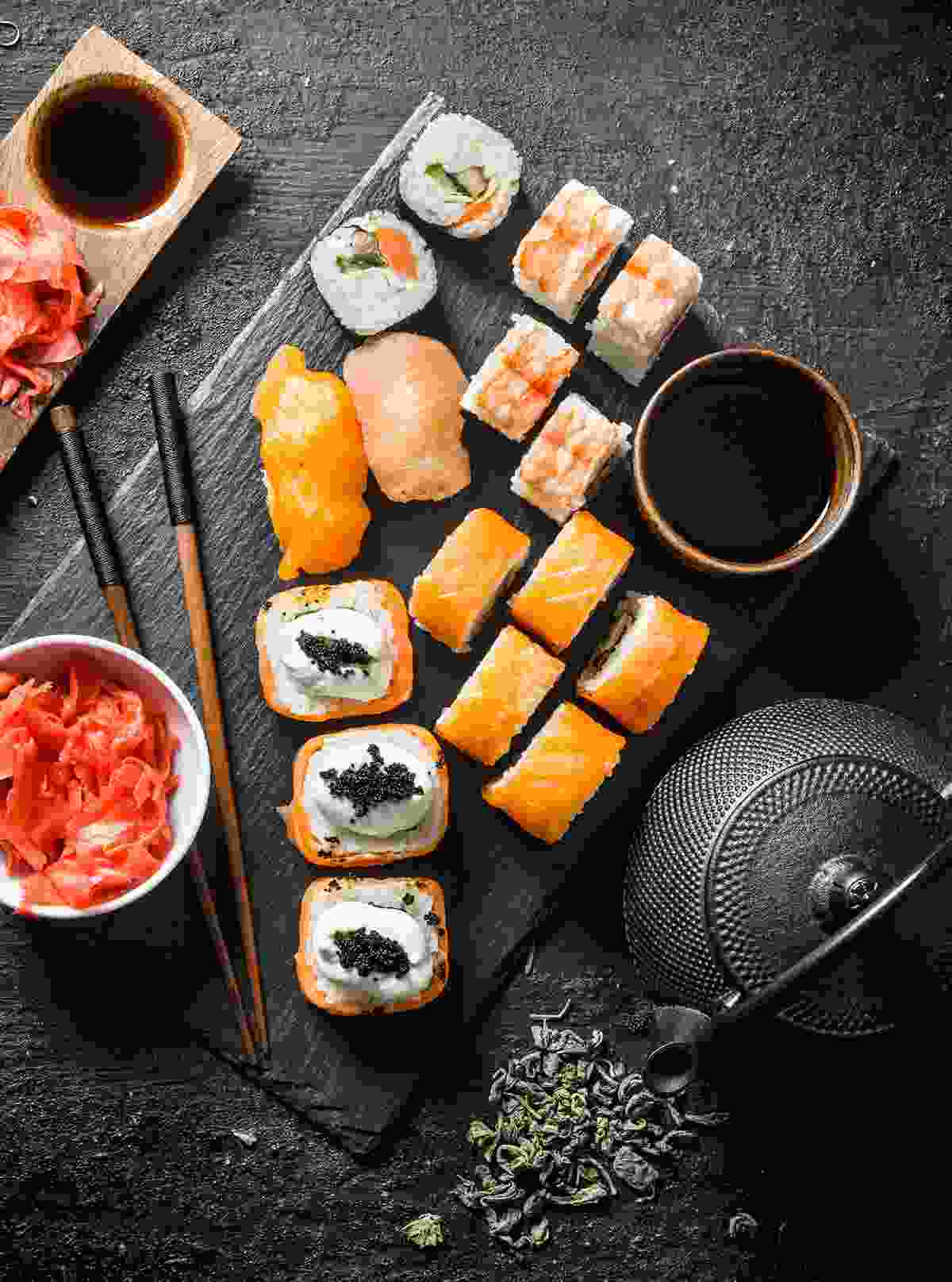 A selection of sushi (Shutterstock)