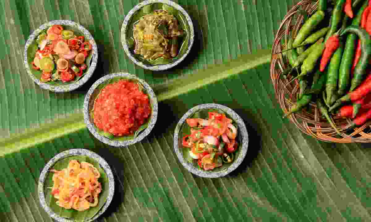 Sambal, a typical dish in Indonesia, is often vegetarian-friendly (Shutterstock)