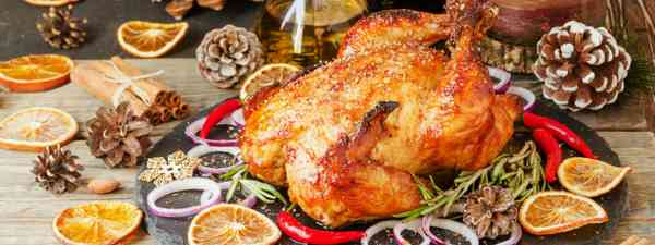 Roast turkey (Dreamstime)
