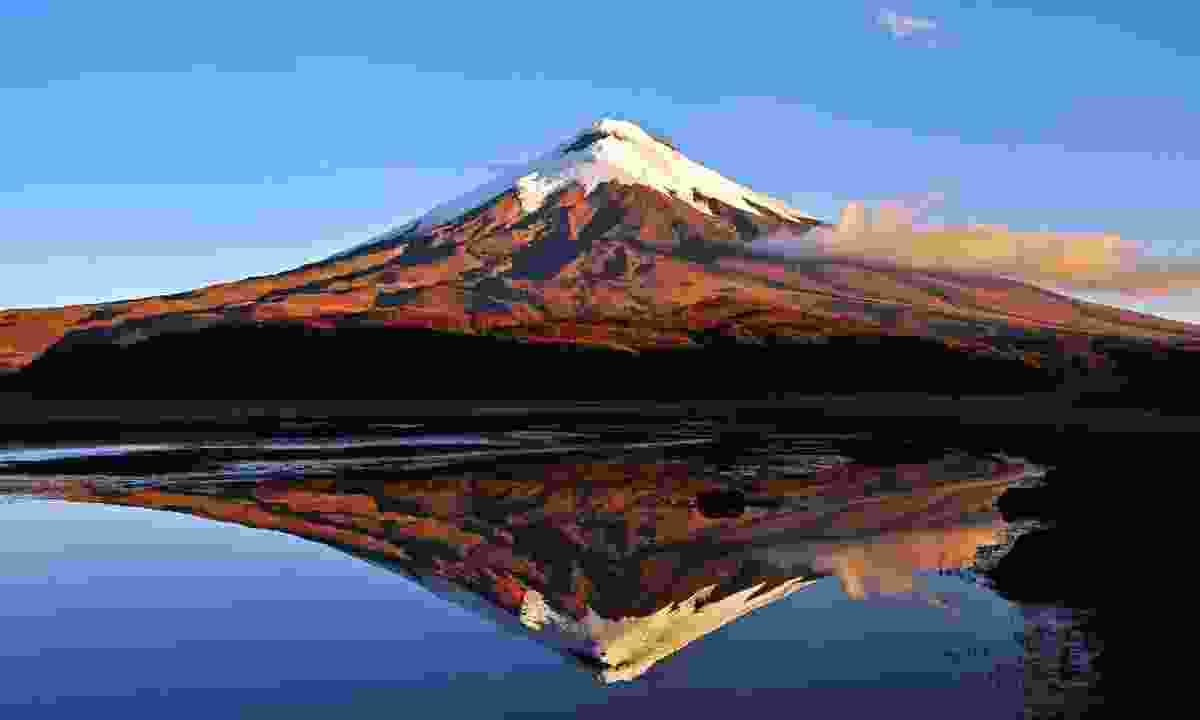 One of the world's highest volcanoes at 5,897m, Cotopaxi last erupted in August 2015 (Dreamstime)