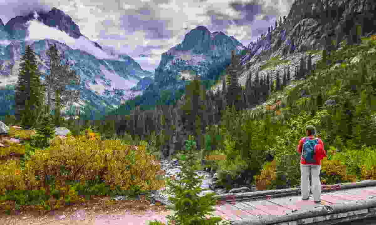 Cascade Canyon Trail (Dreamstime)