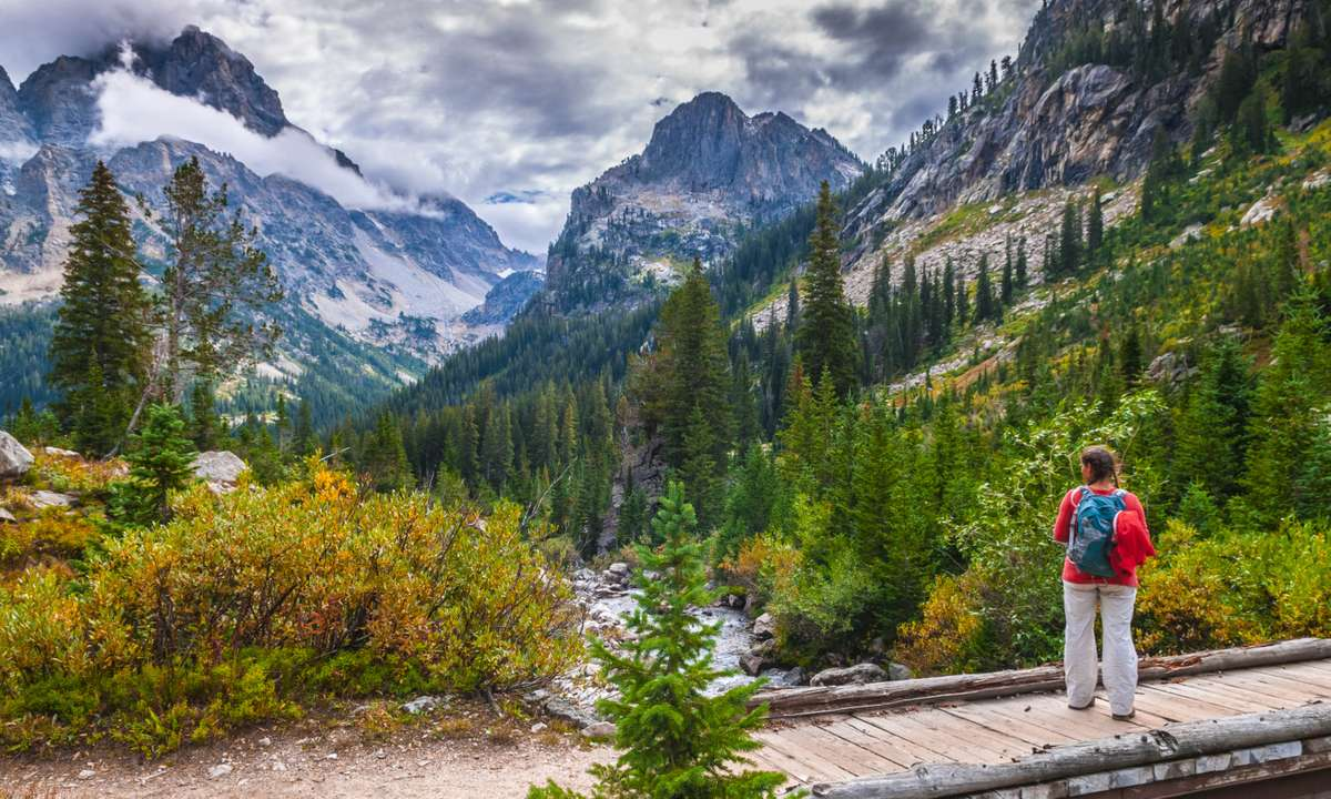 Cascade Canyon Trail (Dreamstime)