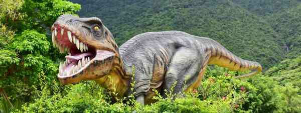 A T. Rex in Shenzhen Dapeng Peninsula National Geopark Museum (Dreamstime)