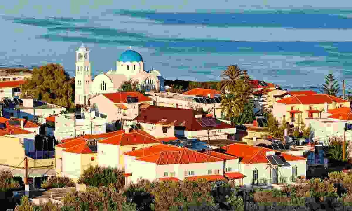 Skala, Agistri island, Greece (Dreamstime)