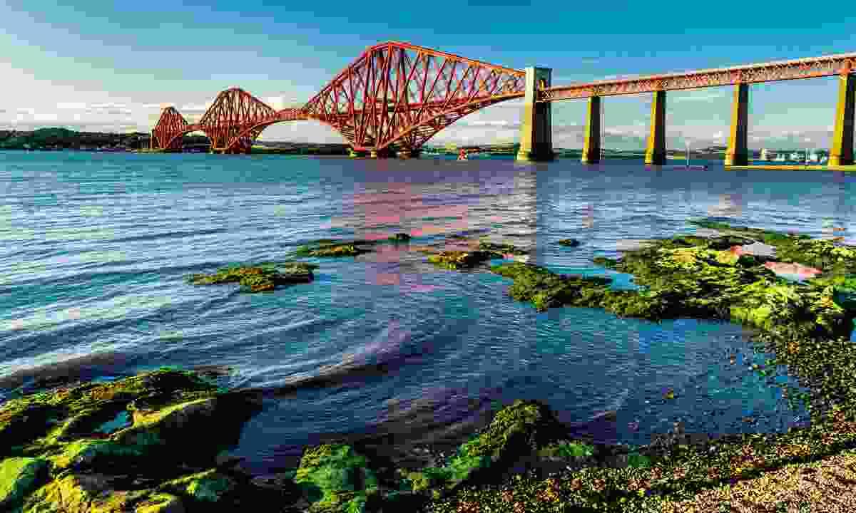 The UNESCO-lised Forth Bridge (Dreamstime)