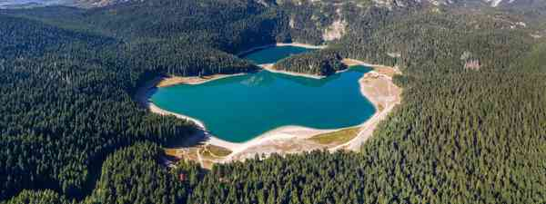 The Black Lake, surrounded by Durmitor National Park, Montenegro (Shutterstock)