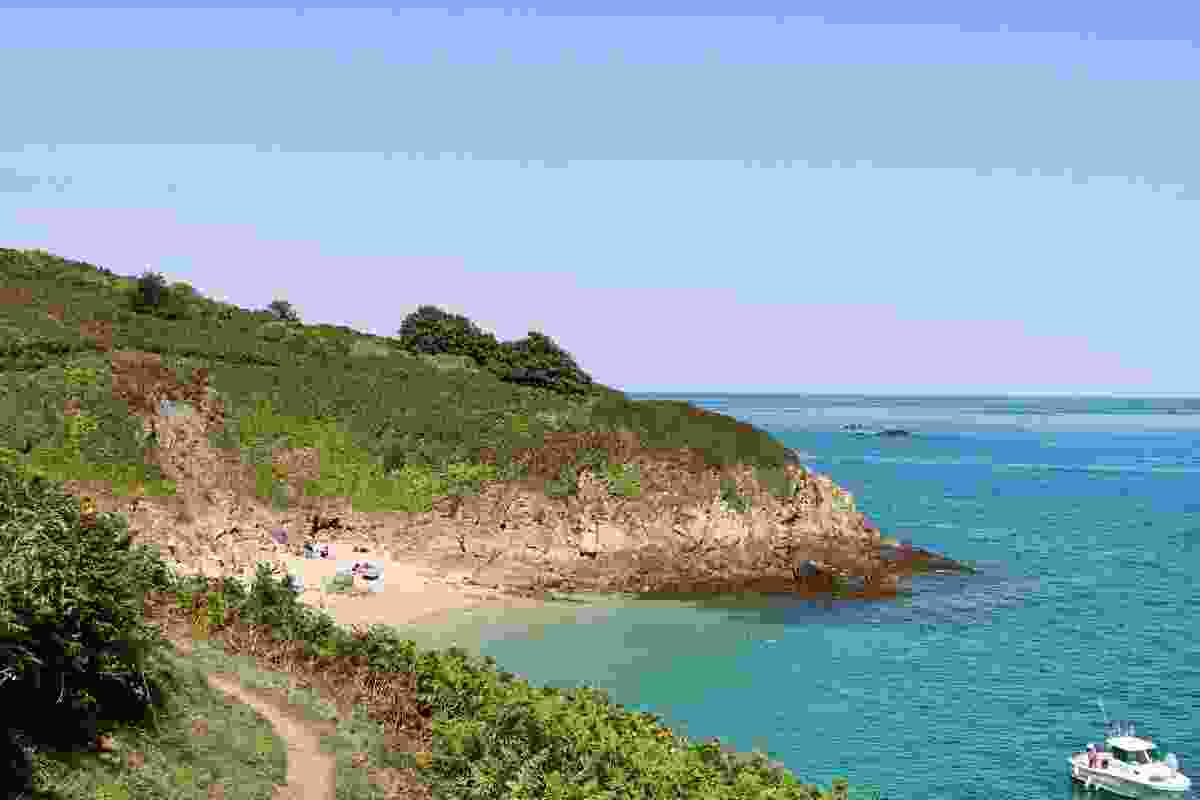 Belvoir Bay, on the island of Herm, United Kingdom (Shutterstock)