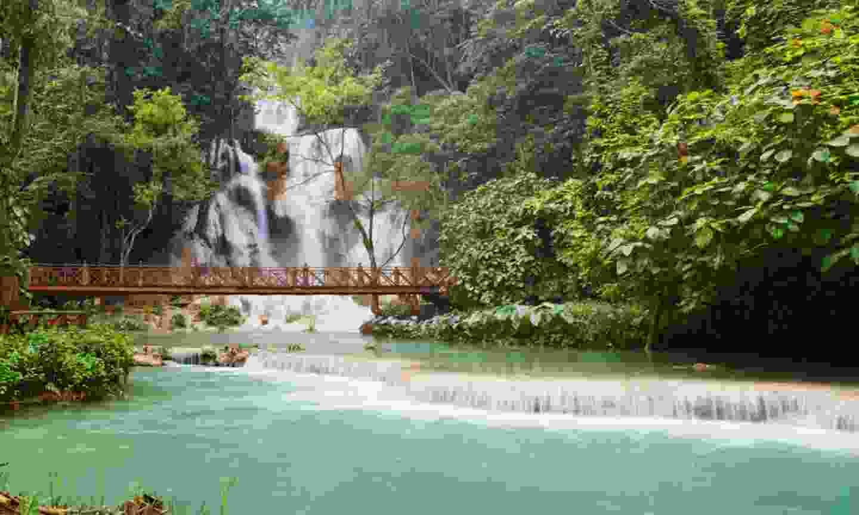 Kuang Si Falls, Laos (Shutterstock)