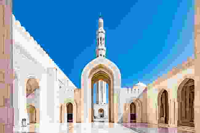 Sultan Qaboos Grand Mosque, Oman (Shutterstock)