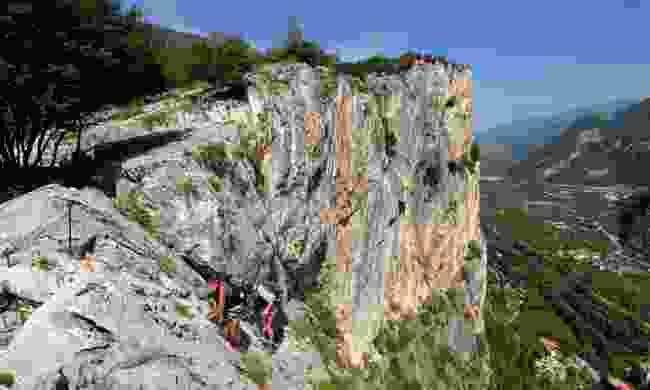 Try ferrata trekking (Daniele Lira/ Garda Trentino S.P.A.)