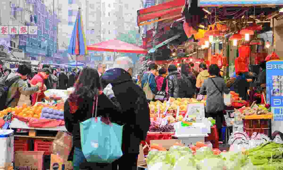 Chun Yeung Street's wet market (Shutterstock)