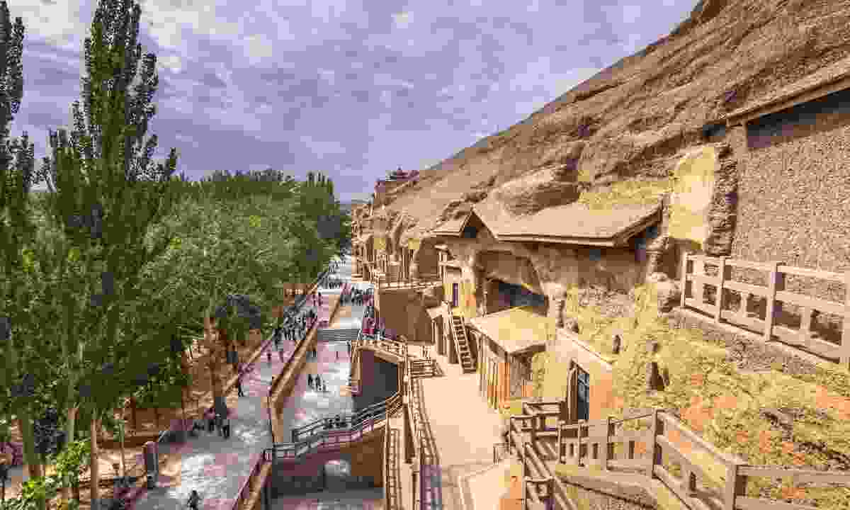 The Mogao Caves, China (Shutterstock)