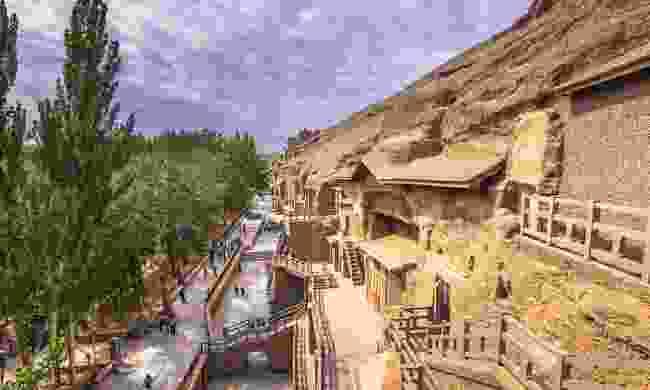The Mogao Caves, China (Shutterstock)