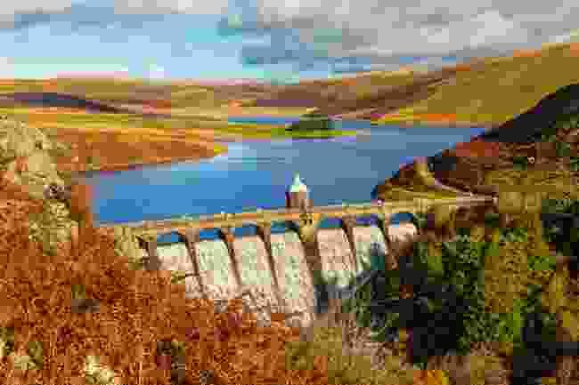 Craig Goch Dam in the Elan Valley (Shutterstock)