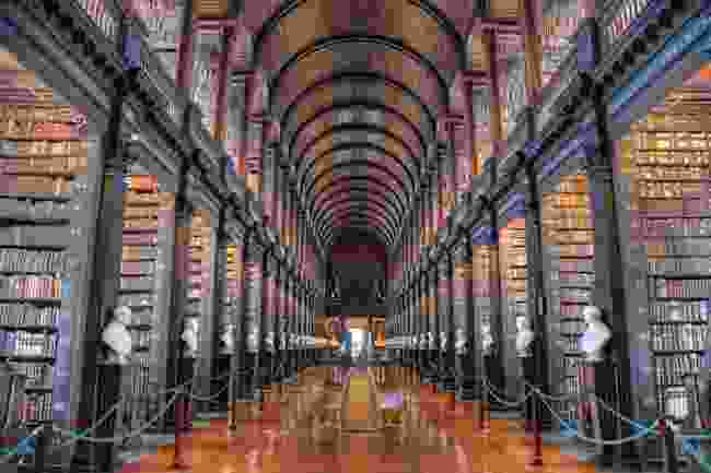Trinity College's Old Library (Shutterstock)