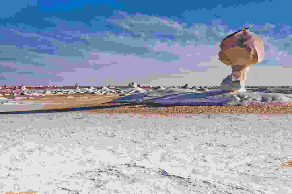 The White Desert, Egypt (Shutterstock)