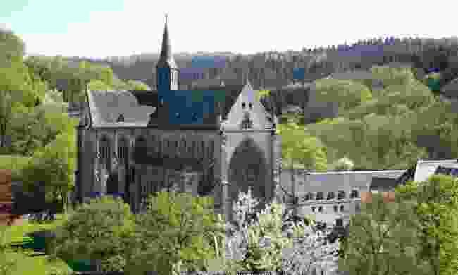 The Altenberger Dom cathedral (Dom Fruhling, Das Bergische)