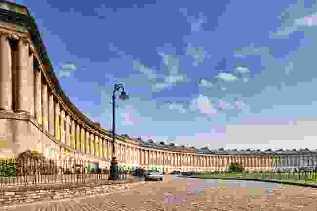 The Royal Crescent, Bath (Shutterstock)
