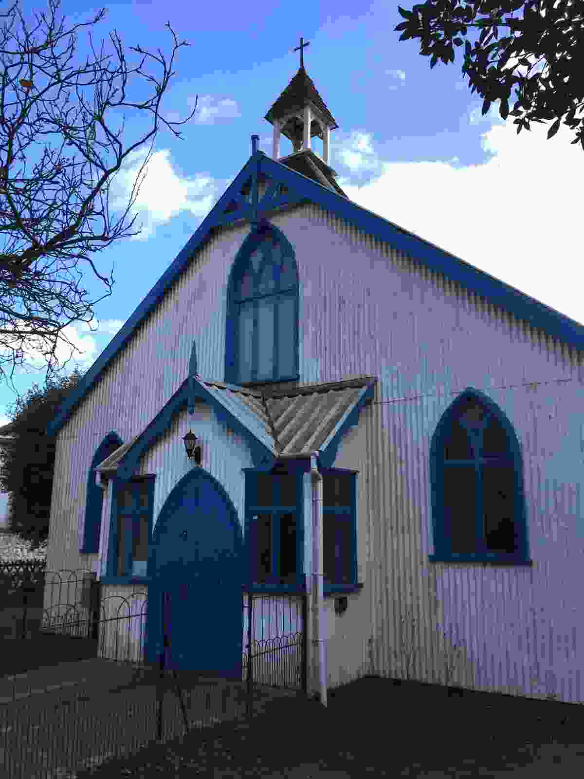 The tin chapel at Hythe (Sarah Guy)