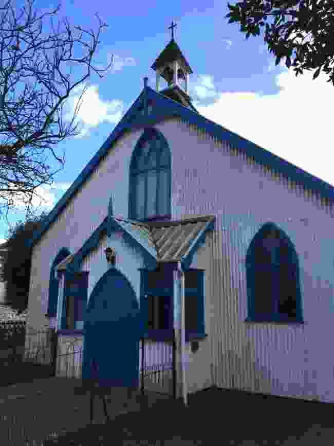 The tin chapel at Hythe (Sarah Guy)