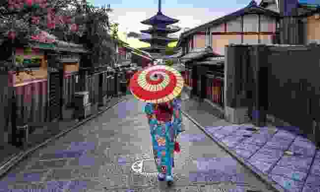 Sannen Zaka Street in Kyoto (Shutterstock)