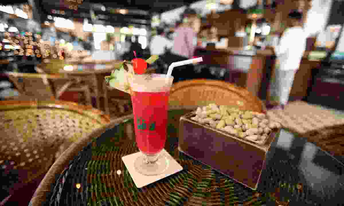 The Long Bar in the Raffles Hotel in Singapore (Shutterstock)
