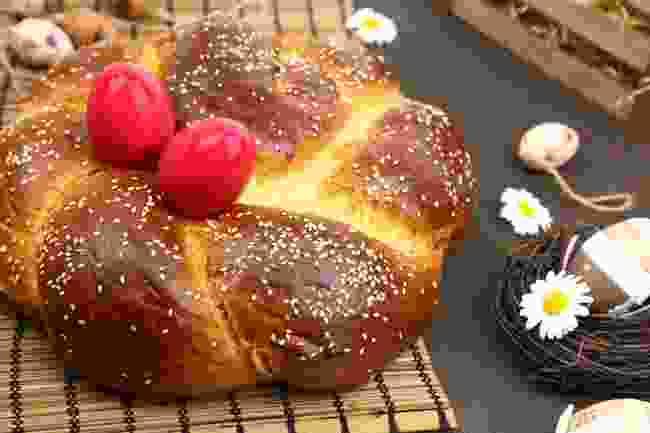 Easter bread in Croatia (Shutterstock)