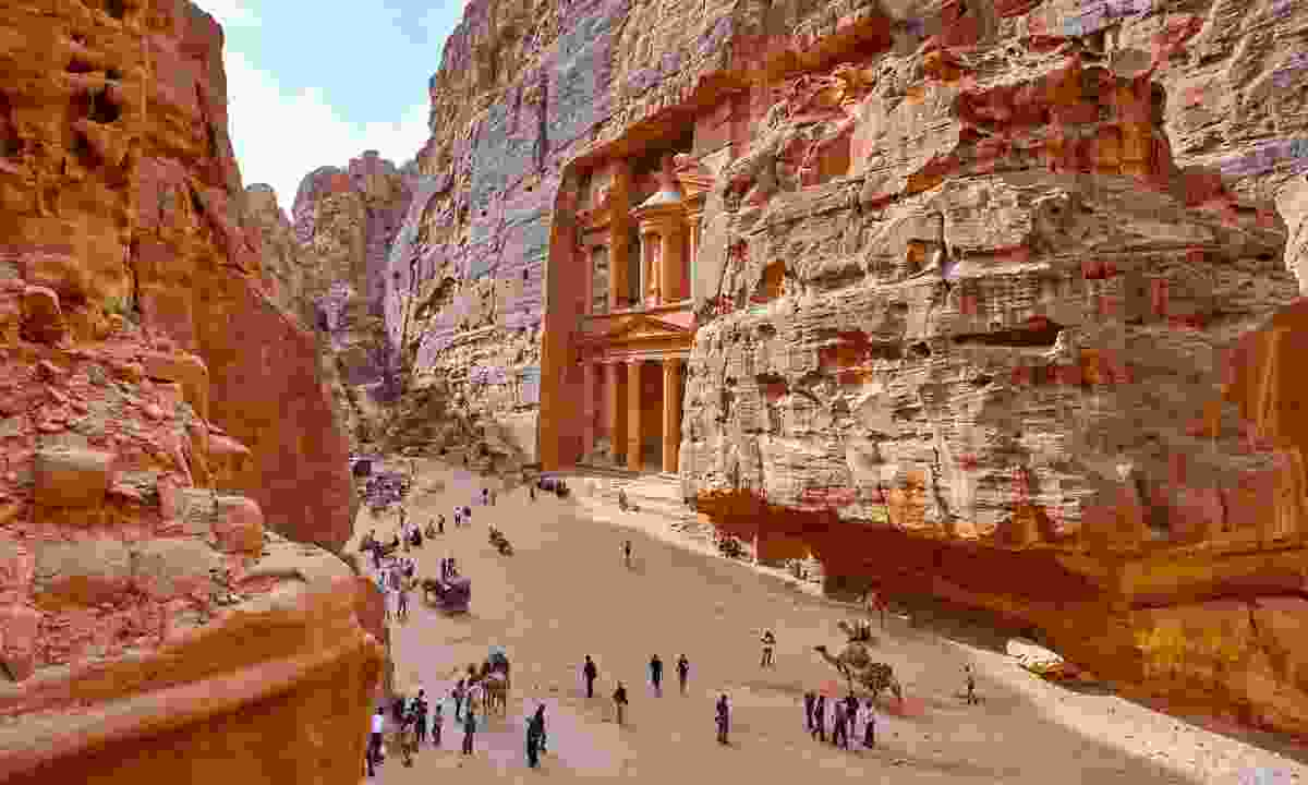 Al Khazneh in the ancient city of Petra (Shutterstock)