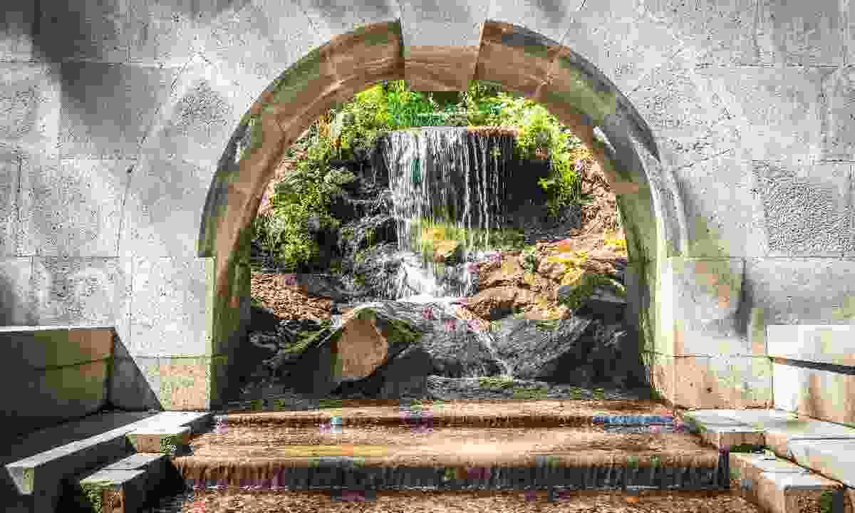A waterfall in Jermuk (Shutterstock)