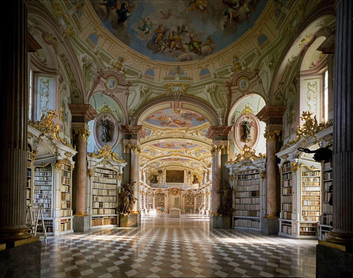 Stiftsbibliothek Admont (Massimo Listri/TASCHEN)
