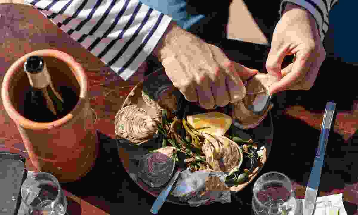 Cancale Oysters (Emmanuel Berthier)