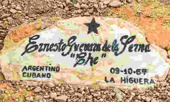 Original grave of Ernesto Che Guevara (Dreamstime)