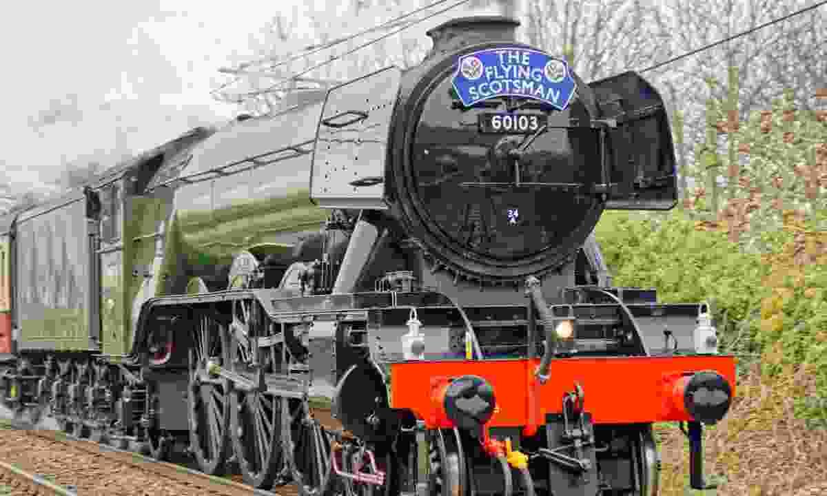 The Flying Scotsman locomotive (Dreamstime)